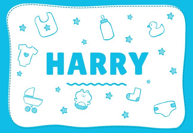 Harry most popular baby boy names