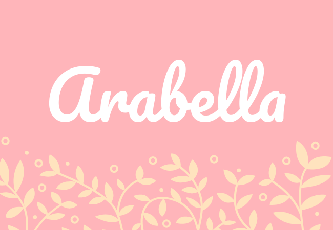 Most popular baby girl names Arabella
