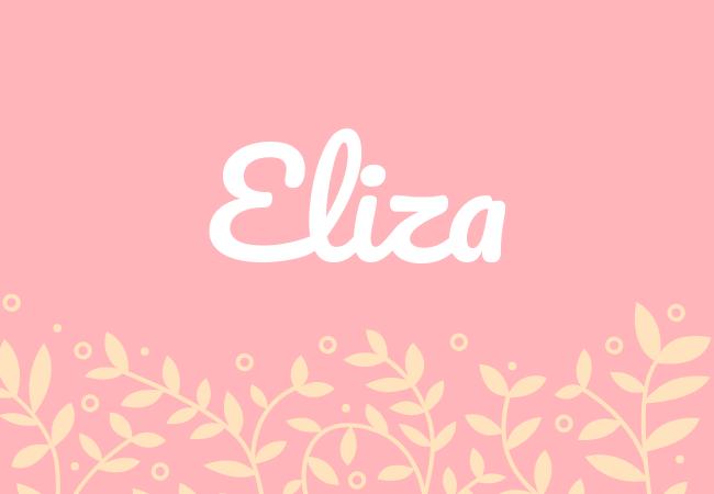 Most popular baby girl names Eliza