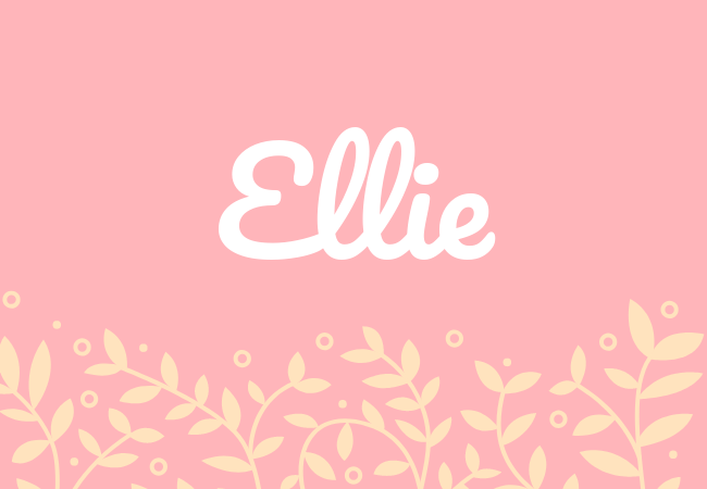 Most popular baby girl names Ellie