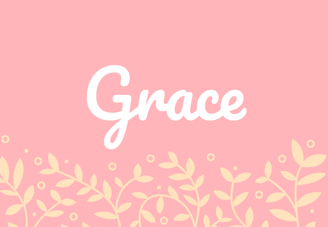 Grace most popular baby girl names