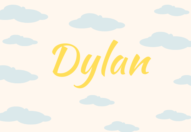 Summer baby names Dylan