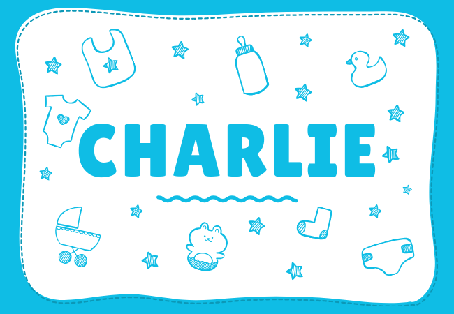 Charlie most popular baby boy names