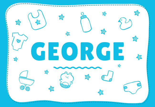 George most popular baby boy names