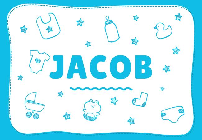 Jacob most popular baby boy names