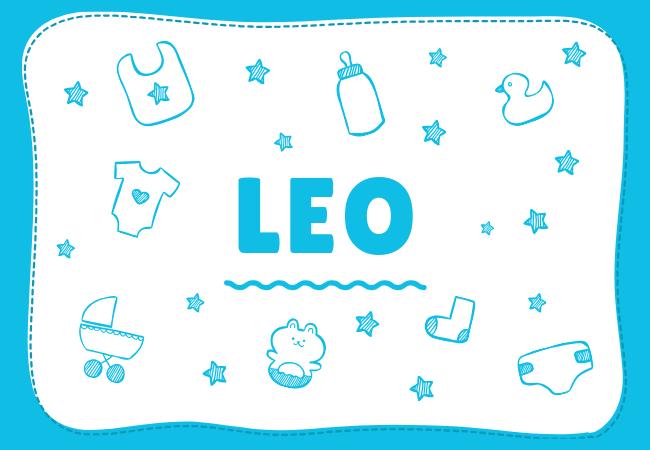 Leo most popular baby boy names