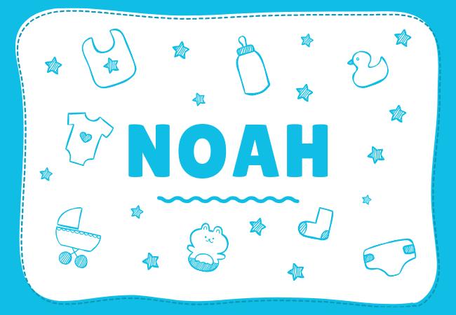 Noah most popular baby boy names