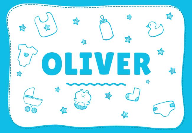 Oliver most popular baby boy names