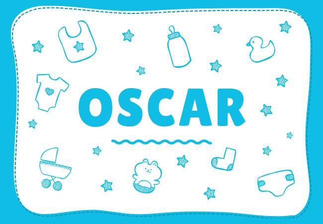 Oscar most popular baby boy names
